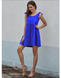 Šaty - kód 2255 - modrá