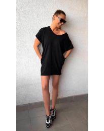 Šaty - kód 3080 - černá