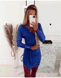 Šaty - kód 2077 - tmavě modrá