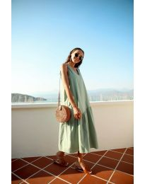Šaty - kód 8810 - zelená