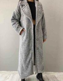 Kabát - kód 0465 - 3 - šedá