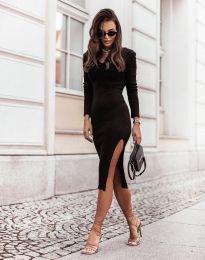Šaty - kód 6593 - černá