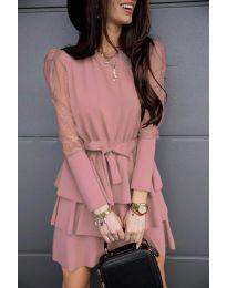 Šaty - kód 8384 - růžová