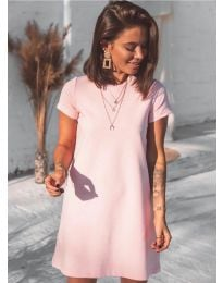 Šaty - kód 2299 - růžová