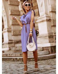 Šaty - kód 7045 - fialová