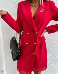 Šaty - kód 6955 - červená