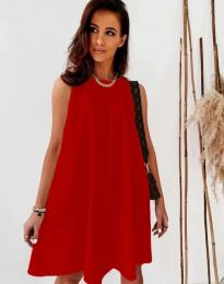 Šaty - kód 9862 - červená