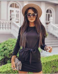 Šaty - kód 2529 - černá