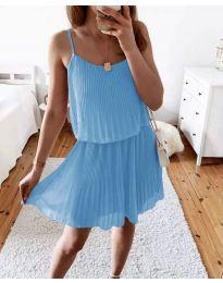 Šaty - kód 8596 - světle modrá