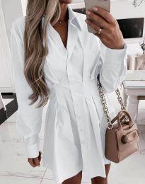 Šaty - kód 8141 - bíla