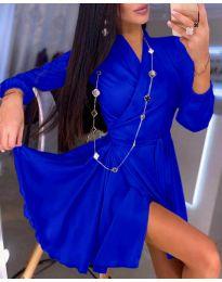 Šaty - kód 2428 - tmavě modrá