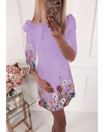 Šaty - kód 240 - světle fialová