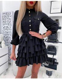 Šaty - kód 7356 - černá