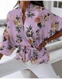 Košile - kód 244 - fialová