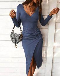 Šaty - kód 4769 - modrá