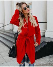 Kabát - kód 814 - červená