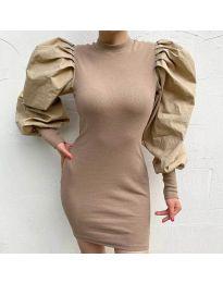 Šaty - kód 3561 - bežová