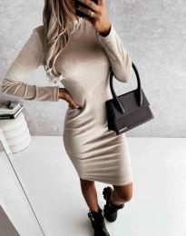 Šaty - kód 9368 - bežová