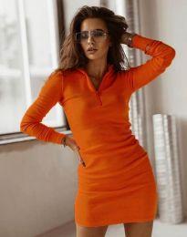 Šaty - kód 4288 - oranžová