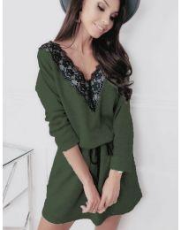 Šaty - kód 5111 - zelená