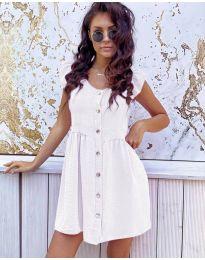 Šaty - kód 3033 - bílá