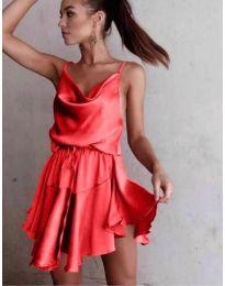 Šaty - kód 660 - červená