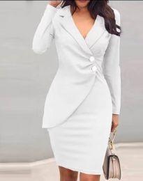 Šaty - kód 2431 - bílá