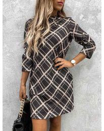 Šaty - kód 9187 - 1 - vícebarevné