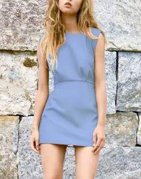 Šaty - kód 1233 - světle modrá