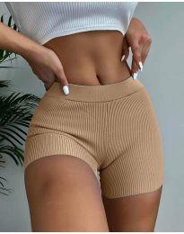 Krátké kalhoty - kód 10155 - cappuccino