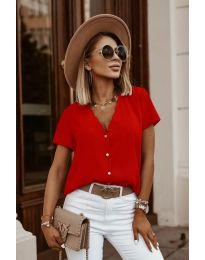Tričko - kód 0606 - červená