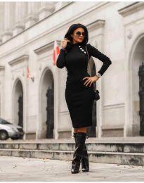 Šaty - kód 7099 - 1 - černá