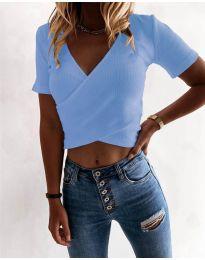 Tričko - kód 1102 - modrý