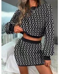 Šaty - kód 9555 - 7 - vícebarevné