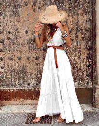 Šaty - kód 0817 - bíla