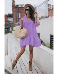 Šaty - kód 6868 - fialová
