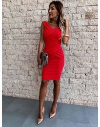 Šaty - kód 1104 - červená