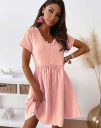 Šaty - kód 1679 - 2 - růžova