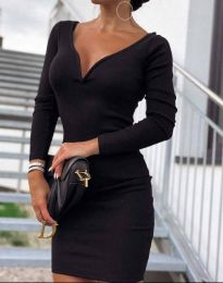 Šaty - kód 12065 - 8 - černá