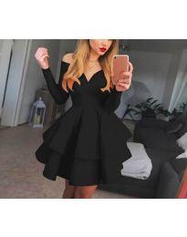 Šaty - kód 228 - černá