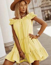 Šaty - kód 6969 - žlutá