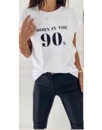 Tričko - kód 947 - bíla