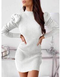 Šaty - kód 493 - bíla