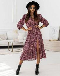 Šaty - kód 0836 - fialová