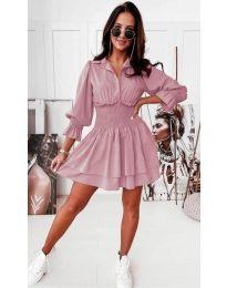 Šaty - kód 1843 - růžova