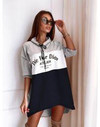 Šaty - kód 9090-4 - barevné