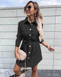 Šaty - kód 2186 - černá