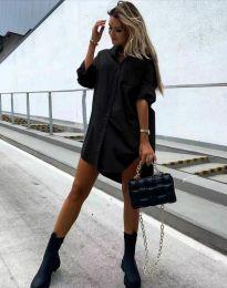 Šaty - kód 7589 - černá