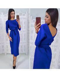 Šaty - kód 974 - modrá