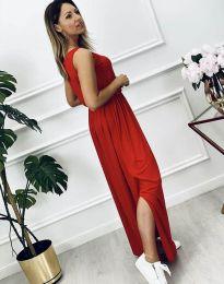 Šaty - kód 7466 - 2 - červená